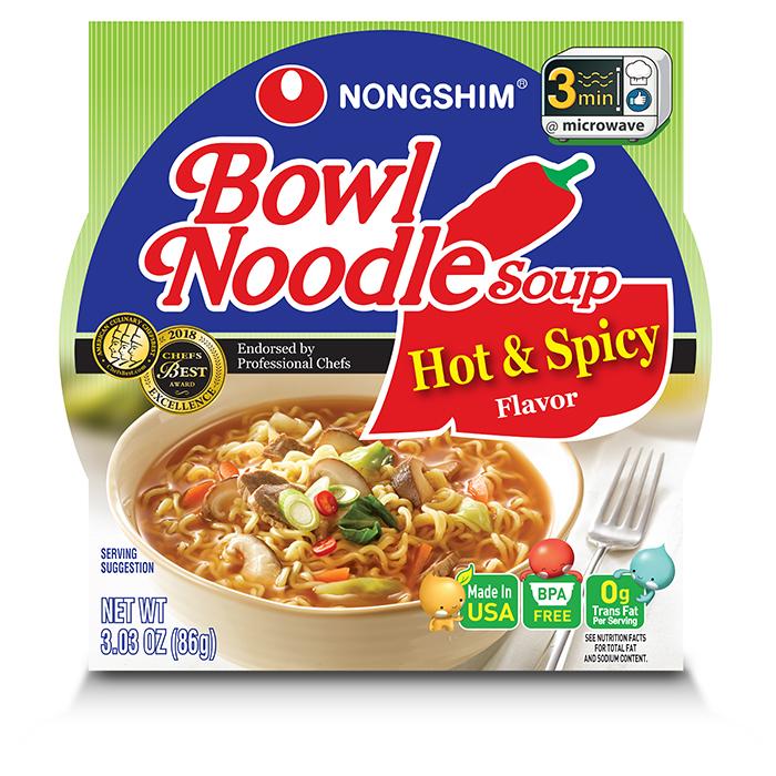 Bowl Noodle   Nongshim USA