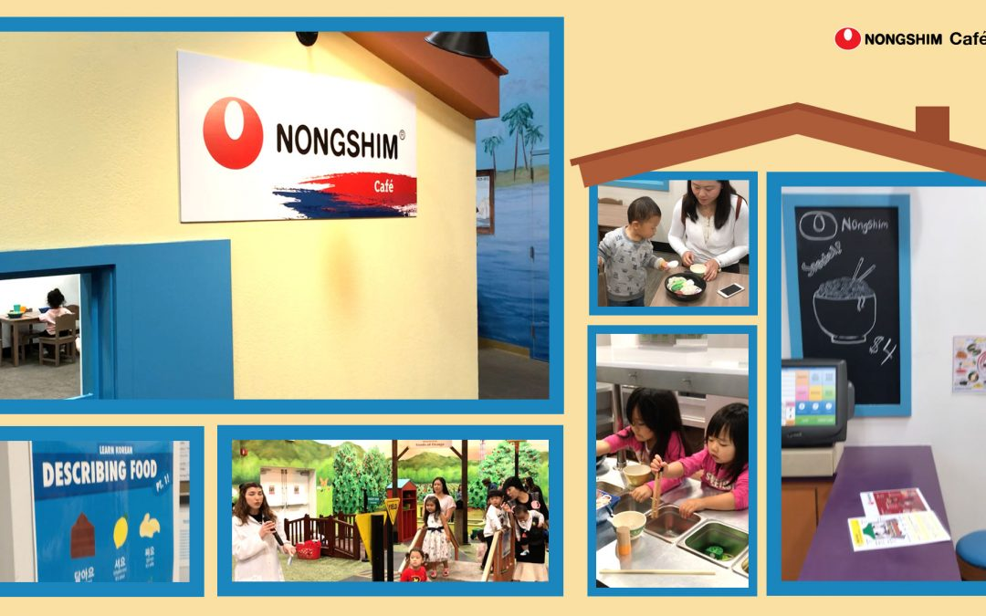 Grand Opening of Café Nongshim!