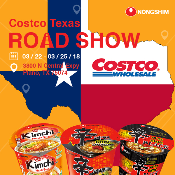 Costco TX Road Show