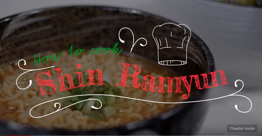 How to Cook Shin Ramyun