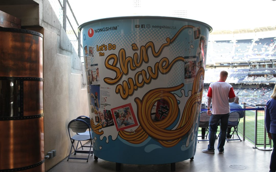 Shin Cup, on the road to becoming a beacon for ramyun lovers worldwide