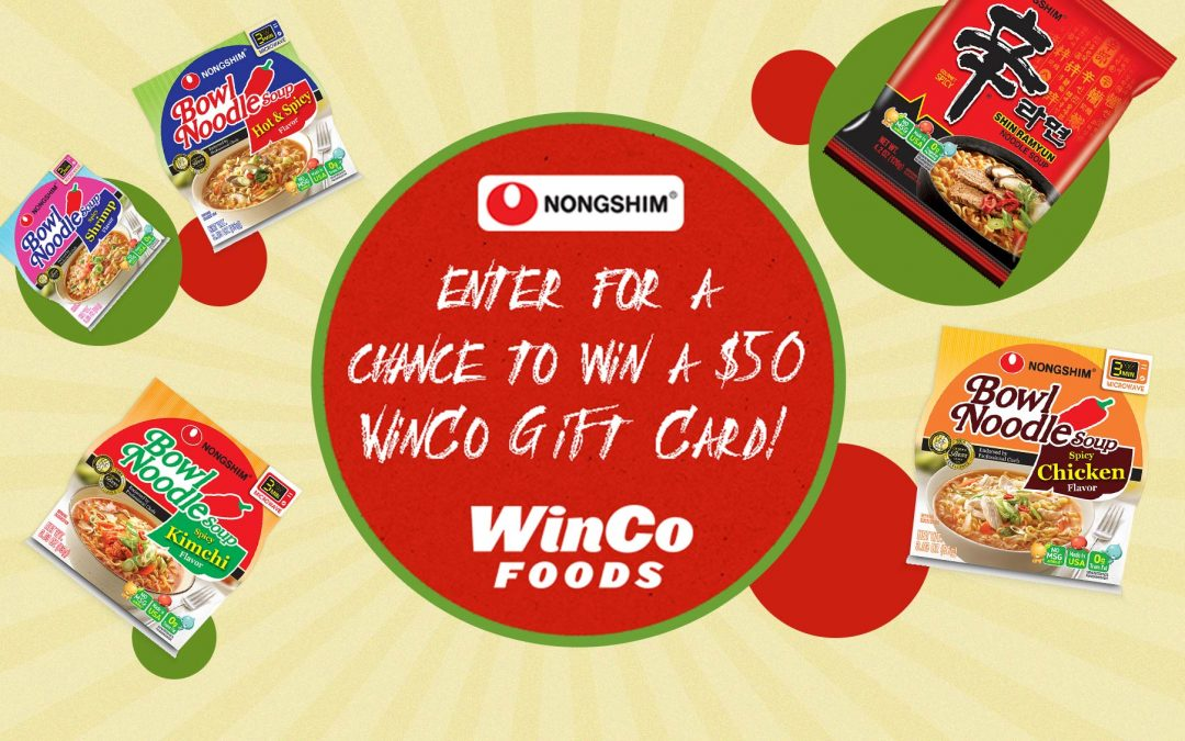 WinCo Foods' Nongshim Noodles Sweepstakes