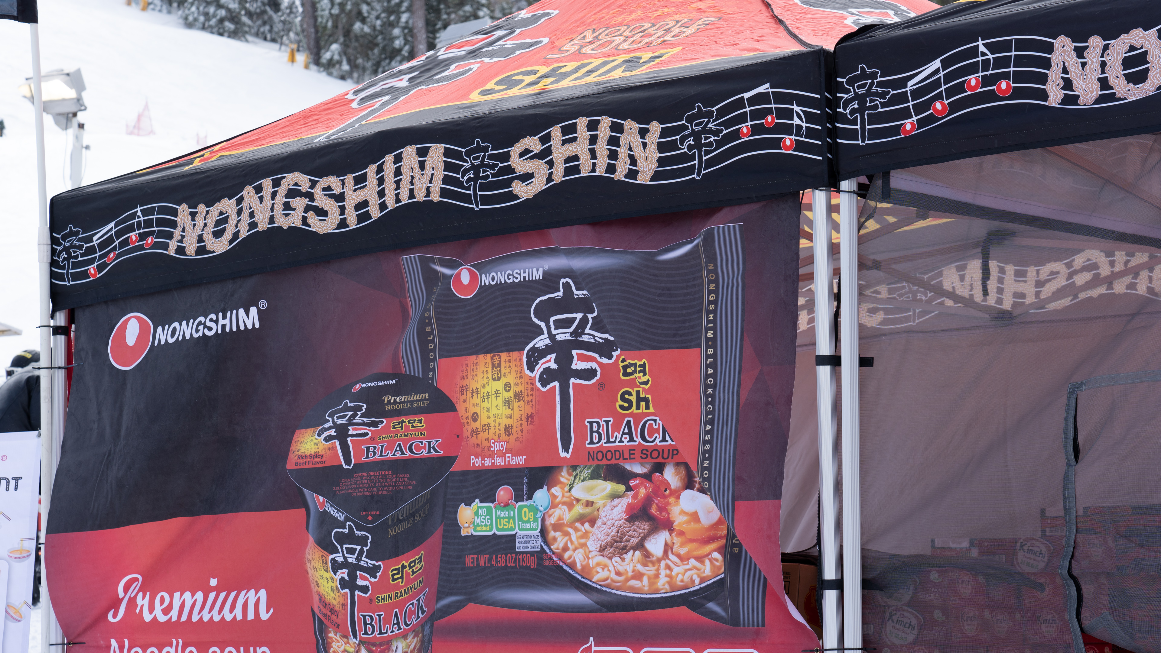 Nongshim Booth @ Mountain High