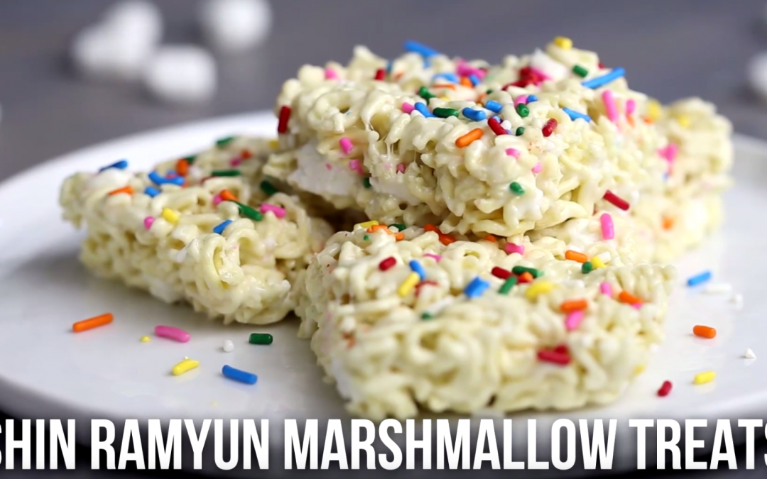[ Recipe Video] Shin Ramyun Marshmallow Treats