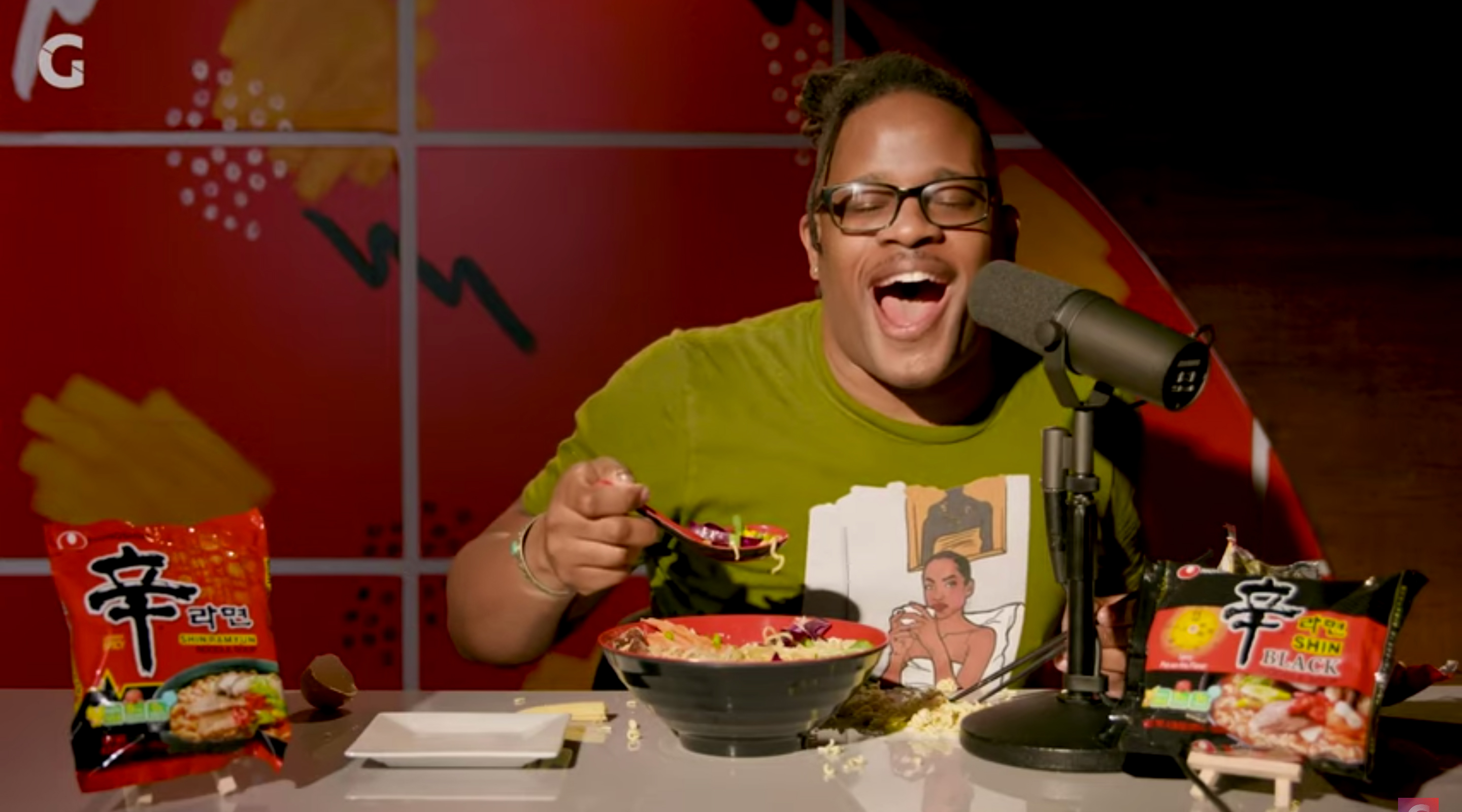 Open Mike Eagle is an ASMR Master | Hot Noodles