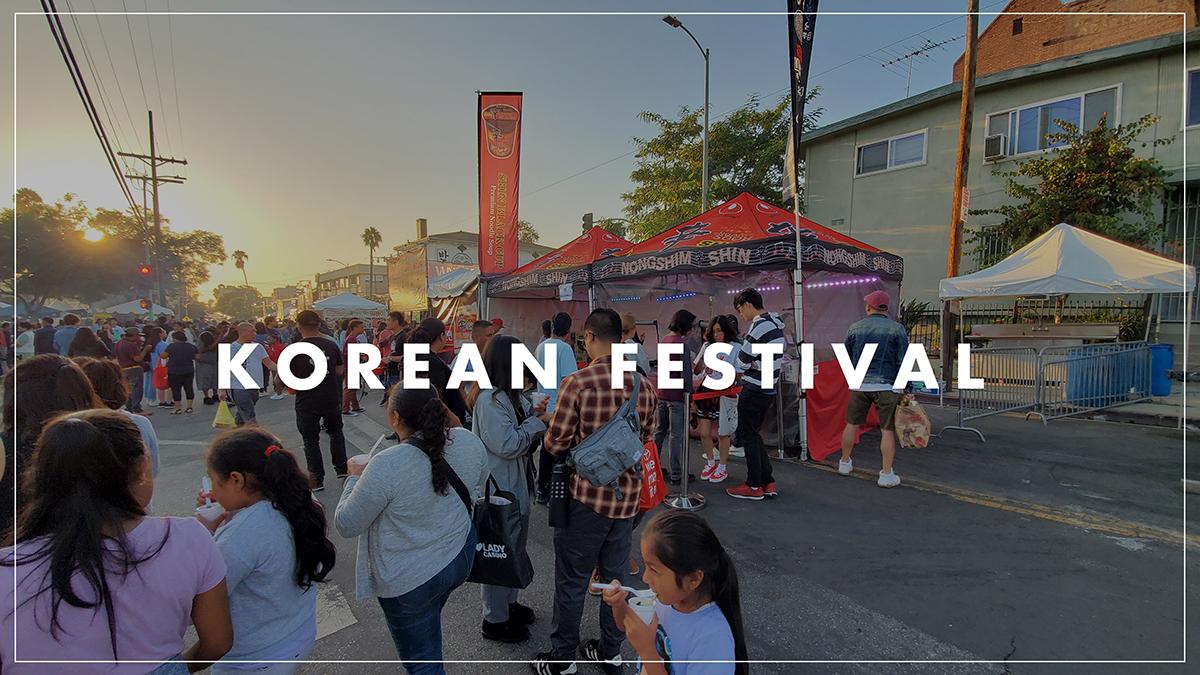Nongshim Korean Festival