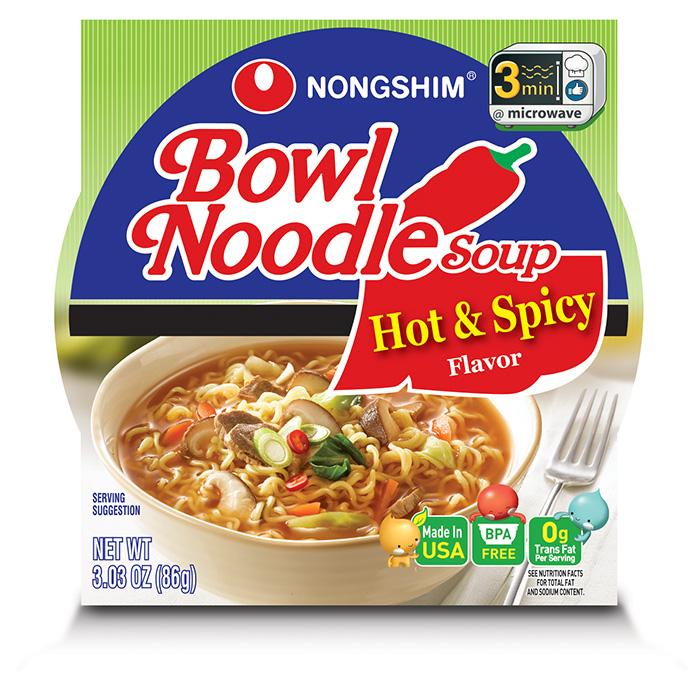 Hot & Spicy Bowl | Nongshim USA