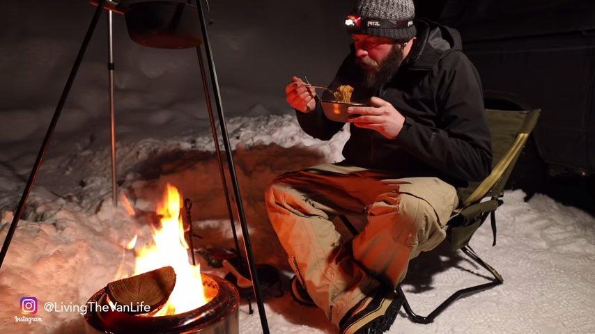 A Cold Winter's Night – With my Favorite Soup – Living The Van Life